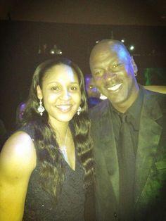 Maya Moore and Michael Jordan