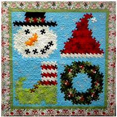 Christmas Medley Pinwheel Twist