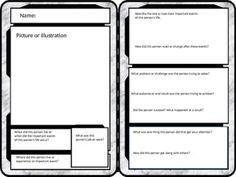Give Summaries And Writing A Different Look By Having Students Create Trading Cards Can Insert Pictures Directly Into The Template Add Vital