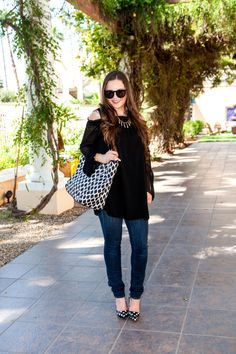 Fashion-Style-Nordstrom-Vera Bradley-Casual-Look-Outfit Ideas-OOTD-Fall-Summer Style-Kate Spade-Celine