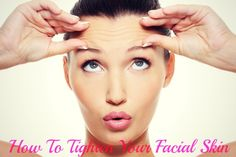 Get your sweat on and workout your face! A few #homeremedies for tightening your facial skin! #antiaging