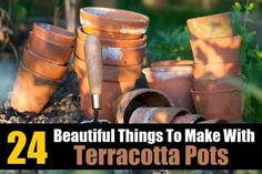 24 Beautiful Things To Make Met Terracotta Potten
