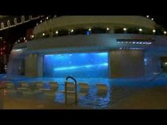 The Golden Nugget Hotel in Las Vegas. I want to slide down through that shark tank slide soon!!!