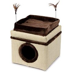 Petcos convertible cat ottoman  | Cat Condos, Cat Beds and other assorted Cat Furniture