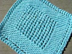 knit dishcloth pattern knit | Floralshowers | 5 Awesome Knitted Dishcloth Patterns | FloralShowers