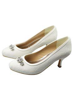 Ivory Kitten Heel