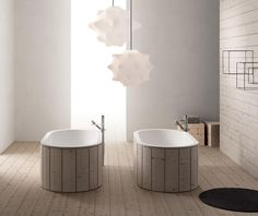 Cibele bath tub from the Arcadia collection by Cielo
