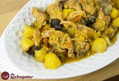 Conejo en salsa. Guiso de conejo - Recetasderechupete.com http://www.recetasderechupete.com/conejo-en-salsa-guiso-de-conejo/10504/ #derechupete