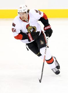 CrowdCam Hot Shot: Ottawa Senators forward Mark Stone during the first period against the Winnipeg Jets at MTS Centre. Photo by Bruce Fedyck