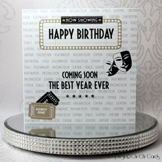 Luxurious Birthday Card - Theatre Lover