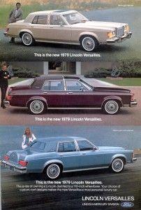 Publicités Anciennes / Vintage Ads 1979 Lincoln