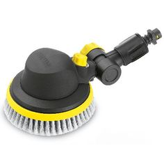 Karcher Adjustable Rotary Wash Brush For K2 - K7 This innovative rotary action wash bush utilises the power of your pressure washeracute