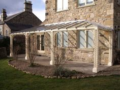 The Traditional Verandah Company......not the posts but the top/angled side to the roof!