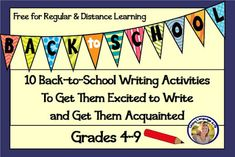 10 free writing lessons that are perfect for easing students into back to school writing whether in regular or online distance learning settings. Relaxes students, helps them get to know each other, and they practice a variety of writing skills. Most lessons contain samples, rubrics, step-by-step directions. In PDF and Google Slides. So many great ideas! FREE. Explanatory, essay, poetry, descriptive, presenting, and more.