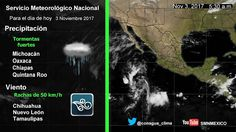 Periodismo sin Censura: Pronóstico Meteorológico General 03 de Noviembre d...