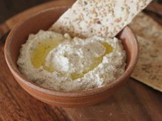 I like to make this hummus with raw chickpeas. It's a nice change from classic chickpea hummus. The rawness comes through as a fresh flavor that is not at all harsh. My husband describes it as \