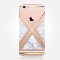 Transparent Marble  iPhone Case - Transparent Case - Clear Case - Transparent iPhone 6 - Samsung S7 - Soft TPU - Gel Case - iPhone SE