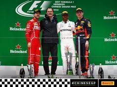 Chinese GP Podium, three different teams!