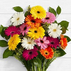 Send Birthday Flowers And Gift - Best renowned name for online flower delivery services here in Pakistan. Free delivery of flower is available in Lahore, Islamabad, Rawalpindi, Karachi. *Same Day Delivery Available Place Your Order or Call Now @ Gerbera Daisy Bouquet, Gerbera Wedding, Flower Bouquet Wedding, Gerbera Daisies, Gerbera Flower, Flower Bouquets, Bridal Bouquets, Happy Birthday Flower, Colorful Birthday