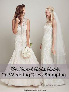 Wedding Bells: The Smart Girl's Guide to Dress Shopping (via Bloglovin.com )