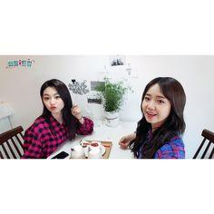 Yoojung & Mina (gugudan) Choi Yoojung, Female Dancers, K Pop Music, Idol, Asia
