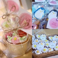 イベント「Marche de SHI TSU RAI」Y&C sweets さんのブース カップケーキも素敵 あっという間に品切れ続出 #Marche de SHI TSU RAI#Y&Csweets#アイシングクッキー #可愛いクッキー