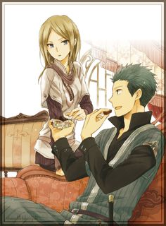 Kiki y Mitsuhide // Akagami no Shirayukihime-Snow White with the Red Hair