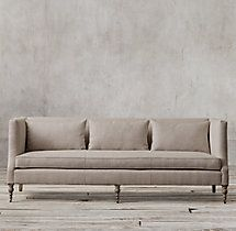 7' St. George Shelter Arm Sofa