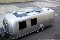 Airstream Safari Eco Renovation - solar