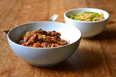 Chinese Crispy Beef with Noodles – recipe from Frugal Feeding