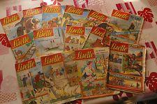 Lot 15 magazines anciens LISETTE de 1961 Revues anciennes