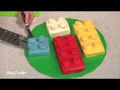 How-To Video for Lego Cakes