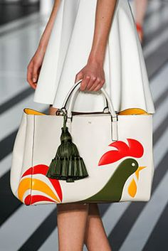 The Kellogg's Corn Flakes Featherweight Ebury and Courtney Maxi Tassel at the Anya Hindmarch #AW14 #LFW show, Counter Culture