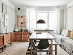 Scandinavian interior design, apartment in Malmö. Home of Andrea Papini.