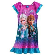Disney Frozen Anna & Elsa Nightgown - Girls