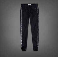 abercrombie sweatpants with glitters