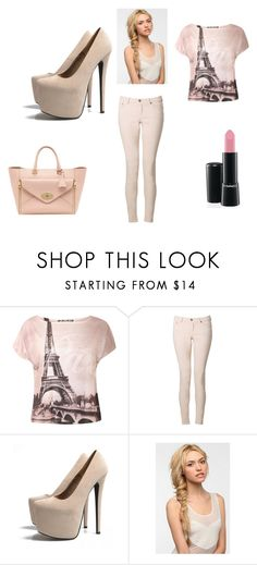 """PINK."" by petite-souris ❤ liked on Polyvore featuring beauty, Edun, AX Paris and Eva NYC"