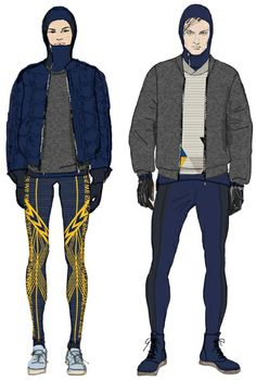 H&M designs uniforms for the Swedish national team for the 2014 Winter Olympic and Paralympic Games