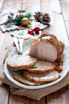 Semplice e gustoso #arrosto di #tacchino cotto al forno con verdure #ricette #secondipiatti #menudinatale #createtoinspire