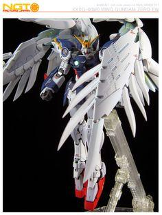 Painted Build: RG 1/144 Wing Gundam Zero Custom EW ver. - Gundam Kits Collection…