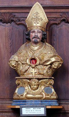 reliquaire de saint Hilaire