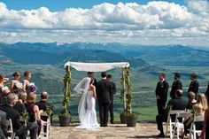 Having your wedding in Jackson Hole? Not too shabby