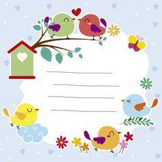 Resultat De Recherche D Images Pour صور عصافير للخلفية Bird Illustration Garden Design Layout Free Vector Art
