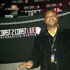 R&B Singer Darious Tobar About TO perform.  He is TPP 's Artist in Development. totallypositiveproductions.com