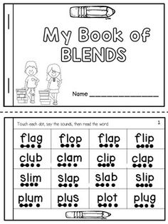Blends and Digraphs Fluency Books