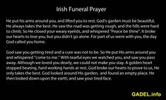 loss of a loved one irish | Loss of a Loved One Quotes, Sayings, Proverbs, Prayers and Poems for ...