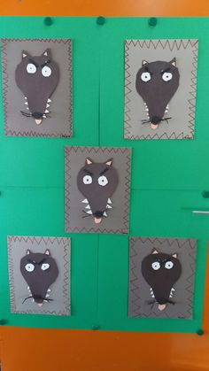 Loup portes ouvertes 18 Wolf Craft, Kindergarten, Busy Bee, Little Pigs, Art Classroom, Art Plastique, Book Crafts, Literacy, Fairy Tales