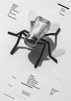 Isidro Ferrer. Cartel oficial de VII Curso Internacional de Ilustración y Diseño Gráfico
