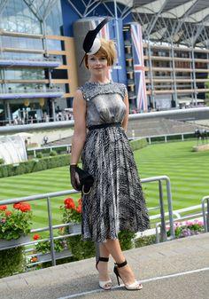 Royal Ascot 2014: Best Hats & Dresses At Ladies Day   Grazia Fashion