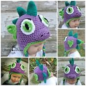 Dinosaur Dragon Spike  - via @Craftsy
